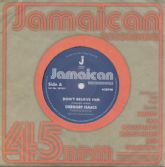 Gregory Isaacs - Don't Believe Him / The Village (Jamaican Recordings) UK 7""